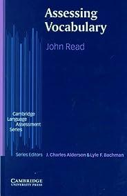 Assessing Vocabulary (Cambridge Language Assessment) (English Edition)