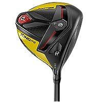 Cobra Golf 2019 F9 Speedback Driver Satin 黑色-黄色(男士右手 UST Helium 50 Lite Flex 10.5)