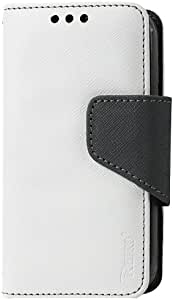 Reiko - 3-in-1 Wallet Case for Alcatel One Touch Evolve 5020T - White