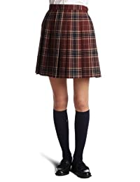 CONOMi 上学用制服 百褶裙 红色×蓝色