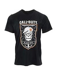 Call of Duty Black Ops 4 黑色 Ops 橡胶 T 恤 XL 黑色 标准