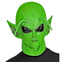 Widmann 01024 外星人全头戴面具,男女皆宜,成人,*,均码