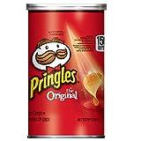 Pringles 马铃薯薯片,原味,Grab and Go,每盒800克(12罐)