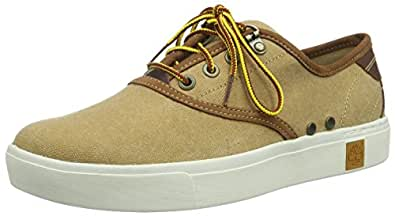 Timberland Men's Amherst Oxford Fashion Sneaker 棕色 7 2E US
