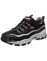 Skechers 斯凯奇 D'LITES系列 女童 魔术贴休闲运动鞋 80524