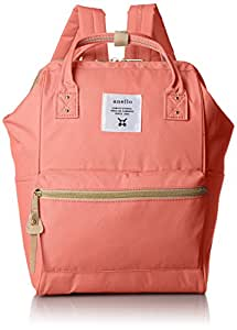 anello [正品] 金属拉链迷你帆布背包 AT-B0197B CPI (珊瑚粉)