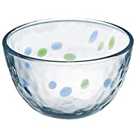 东洋佐佐木玻璃 碗 蓝色&* 水蓝色 ブルー&グリーン 9 P-54325-D01