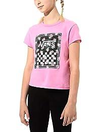 Vans 范斯 女童 Boxed Rose T 恤