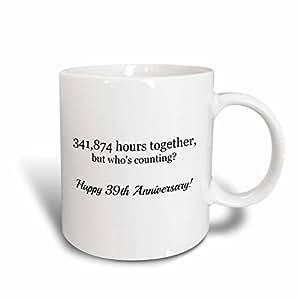 brooklynmeme 周年–幸福 TH anniversary–341874小时 Together–马克杯 白色 11 oz