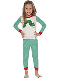 Intimo Little Boys' Eric Carle Caterpillar Pajamas