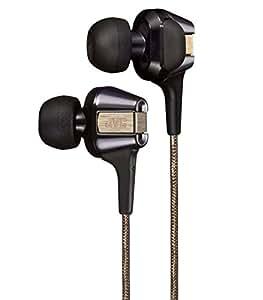 【限定款】JVC FXT200LTD 入耳式耳机 Hi-SPEED双动圈设计 黑色&金色 HA-FXT200LTD