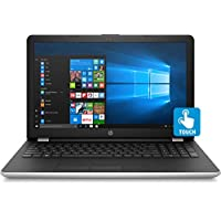 2018 HP 15.6 英寸触摸屏笔记本电脑,Intel Core i5-7200U,8GB DDR4,2TB HDD,Intel HD Graphics 620,802.11ac,蓝牙,DVD RW,USB 3.1,HDMI,网络摄像头,Windows 10 家庭,银色