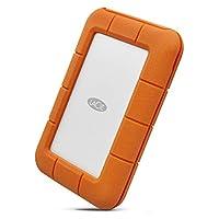 LaCie 莱斯 坚固迷你 USB 便携式3.5英寸外置硬盘驱动器适用于 pc 和 Mac