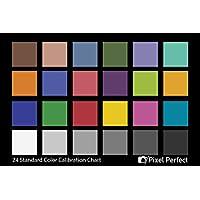 相机颜色校正卡 - (2 件套)- 5x7 用于照片和视频 - 参考工具灰色卡靶白色平衡曝光温度颜色校准表