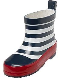Playshoes 男女通用儿童橡胶靴低海运水鞋