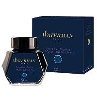 Waterman 瓶装墨水 50毫升 神秘蓝