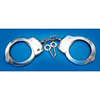 Loftus 国际警察手铐带钥匙服装配件,均码,银色