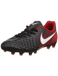 Nike Unisex Kids' Jr Magista Ola Ii Fg Footbal Shoes, Black (Black/White/University Red), 5.5 5UK Child