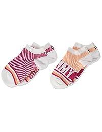 Tommy Hilfiger 女童及踝袜(2 双装)