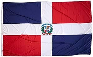 Annin Flagmakers 尼龙太阳镜 Nyl-Glo Dominion Republic 旗帜 5x8' 192265