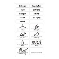 吉川国工业所 标签贴 白色 约14×25.2cm 白色 約14×25.2cm 223391