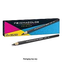 Prismacolor 三福霹雳马 EBONY 乌木石墨素描铅笔 炭笔 12支装