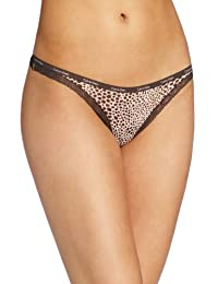 Calvin Klein Women's Bottoms Up Thong Panty