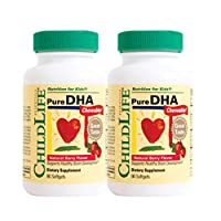 Childlife Pure Dha 軟膠囊,180粒