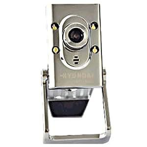 HYUNDAI现代 舞动系列 HYC-W600 高清摄像头(无驱 五玻 内置麦克 带线控灯 静态1000万像素)
