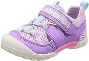 [Carrot] 運動鞋 夏季鞋 4大功能 魔術兒童 CR C2231 紫色 19.0 cm 2E