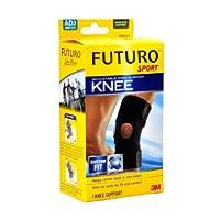 3M护多乐 运动系列可调式护膝/膝盖防护 中等强度固定型 (单只装)(亚马逊自营商品, 由供应商配送)