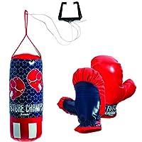 Franklin Sports 儿童迷你拳击套装 - 未来倒角 - 12 x 4.75 英寸