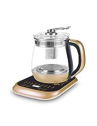 艾贝丽养生壶煲药壶煲汤壶泡花茶壶1.8L多功能全自动加厚高硼硅玻璃A-YSH9