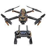 DJI Mavic 贴花套件 - 包括 1 个无人机/电池皮肤 + 控制器皮肤 V08 Starfighter Mavic 2/Zoom DJIM2-V08SF