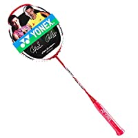 YONEX 尤尼克斯 中性 羽毛球拍单拍弓箭全碳素yy羽拍未穿线 ARC11 红色(亚马逊自营商品, 由供应商配送)