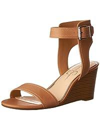 Jessica Simpson 女 时装凉鞋 JS-CRISTABEL(亚马逊进口直采,美国品牌)