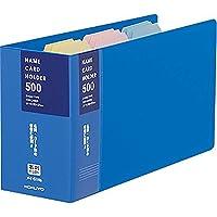 Kokuyo名片夹更换纸张类型504名蓝色五月 - 51 NB日本 Kokuyo business card holder replacement paper type 504 name Blue May - 51 NB コクヨ 名刺ホルダー 替紙式 504名 青 メイ-51NB Japan