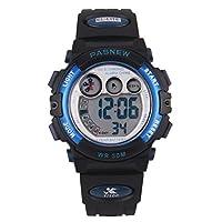 Wise 女童手表,数码液晶显示手表,运动手表,儿童青少年手表,防水手表,儿童手表239G