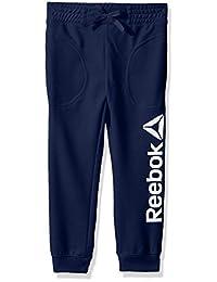 Reebok 女童运动慢跑裤