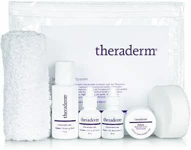 Theraderm 皮肤再生旅行系统,含多肽补水器