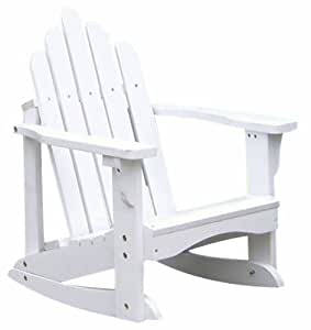 Shine Company Marina 儿童艾迪龙达克摇椅,白色