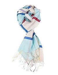 奢华羊绒风格丝巾 丝滑柔软优雅女式围巾 格子时尚颜色男女通用男式