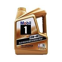 Mobil 美孚 金美孚1号 0w40 美孚1号0w-40 SN级 4L 全合成机油 润滑油
