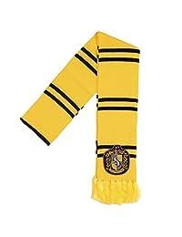 Harry Potter Hufflepuff Patch Knit Scarf