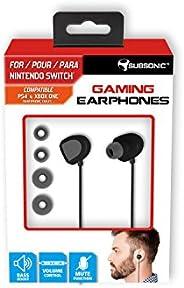 Subsonic - 游戏耳机和麦克风 适用于任天堂切换器 - 游戏耳机 带低音提升