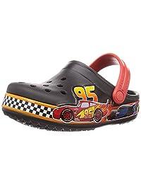 Crocs 迪士尼和皮克斯汽车总动员儿童洞鞋|幼儿、男孩、女孩
