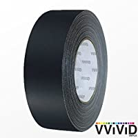 VViViD 黑色哑光排气胶带卷(1/2 英寸 x 20 英尺)