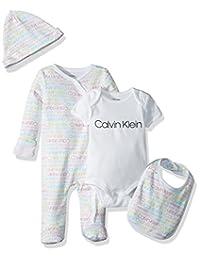 Calvin Klein 女婴4件礼品套装