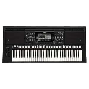 YAMAHA 雅马哈 电子琴S775/S975专业演奏61键乐队编曲键盘音乐工作站 PSR-S775全套大礼包(亚马逊自营商品, 由供应商配送)