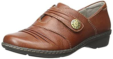 Naturalizer Response 女士一脚蹬乐福鞋 棕色(Saddle) 8 M US